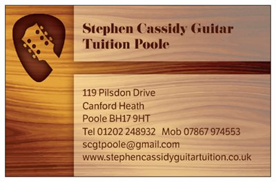 Free guitar loan for poole and bournemouth guitar lessons stephen cassidy guitar tuition colourmoves